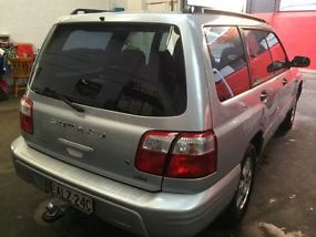 Subaru Forester GT 2002 4D Wagon 5 SP Manual Wagon image 8