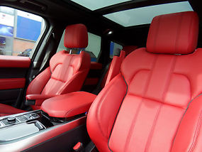 Land Rover Range Rover Sport Hse Dynamic White With Red