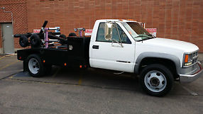 2000 Chevy C3500HD Tow Truck, Repo, Wrecker, Self Loader image 1