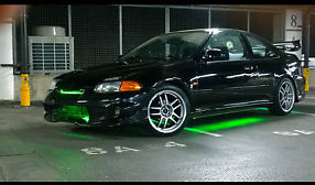 1996 HONDA CIVIC COUPE BLACK FAST AND FURIOUS REPLICA