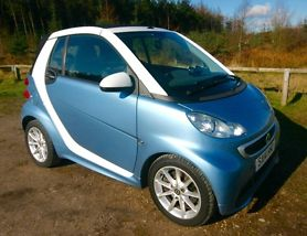 FORTWO CABRIO PASSION 1.0 MHD with ZERO ROAD TAX 7000 MILES