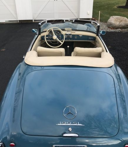 1962 Mercedes-Benz 190-Series Roadster image 4