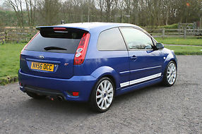 2006/56 Ford Fiesta ST, Low miles, FSH, Low Owners, Performance Blue image 3