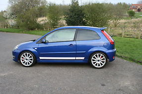 2006/56 Ford Fiesta ST, Low miles, FSH, Low Owners, Performance Blue image 6