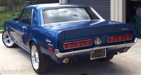 VERY SPECIAL - 1968 Mustang GT/CS Coupe 351 AOD PS P Disc Brakes image 2
