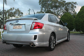 Subaru Impreza WRX Sedan Premium Manual Model  image 8