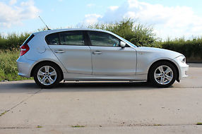 2008 bmw 118d se silver. Black Bedroom Furniture Sets. Home Design Ideas