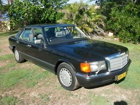 1991 Mercedes Benz 420SE W126, Exceptional Condition, Australian Delivered