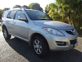 Great Wall X240 4WD, 2013, Silver, Leather interior, ONLY 21,000KS
