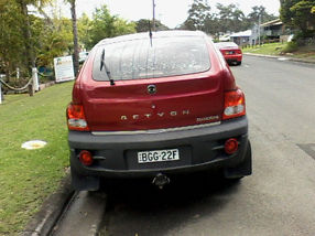 Ssangyong Actyon2007 (4x4) image 3