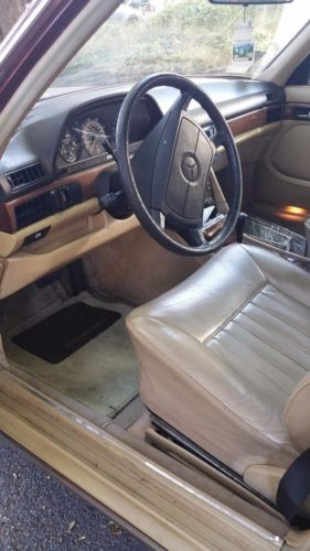 1987 Mercedes-Benz 400-Series 420SEL image 7