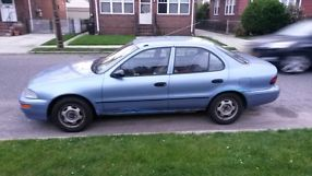 1995 Geo Prizm Base Sedan 4-Door 1.6L image 3