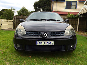 Renault CLIO Sport (2004) 3D Hatchback 5 SP Manual (2L - Multi Point F/INJ) 5...