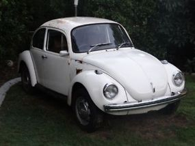 1975 VW Volkswagen Beetle L Bug, 1600 Twin Port Engine, IRS Gearbox Minimal Rust