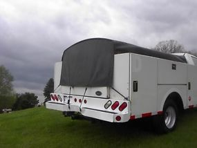 2007 GMC 3500 UTILTIY TRUCK WITH 6.6 DIESEL DURAMAX AND ALLISON 4X4 image 4