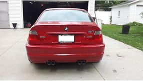 2003 BMW M3 Coupe 2-Door 3.2L 6-speed manual Imola Red 19