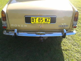 Rover 3500 (1972) 4D Sedan 3 SP Automatic (3.5L - Twin Carb) image 2
