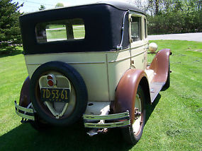 1928 CHEVROLET 4 DOOR [ RUNS GOOD ] image 2