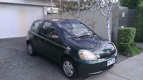 Toyota Echo (1999) 3D Hatchback 5 SP Manual + POWER STEERING, A/C, SHORT REGO