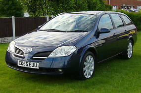 NISSAN PRIMERA ESTATE SX 2.0 PETROLFULL MOT & 6 MONTHS TAX PX WELCOME