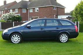 NISSAN PRIMERA ESTATE SX 2.0 PETROLFULL MOT & 6 MONTHS TAX PX WELCOME image 1