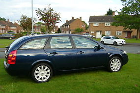 NISSAN PRIMERA ESTATE SX 2.0 PETROLFULL MOT & 6 MONTHS TAX PX WELCOME image 2
