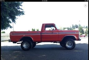 1977 F150 4x4 Short Bed image 2