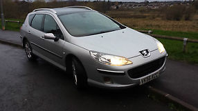 2006 PEUGEOT 407 SW SE HDI SILVER