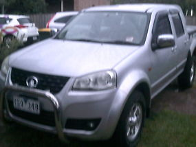 2011 great wall dual cab ute