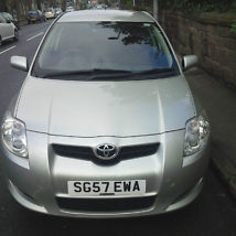 2007 TOYOTA AURIS TR D-4D SILVER - ALTERNATOR PROBLEM & DAMAGED DOOR
