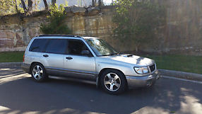 Subaru Forester GT (1999) 4D Wagon 4 SP Automatic (2L - Turbo MPFI)