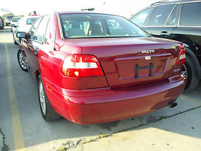 2004 VOLVO S40 FULLY LOADED, 150K MILES, SUNROOF, CLEAN LEATHER SEATS, RED image 1