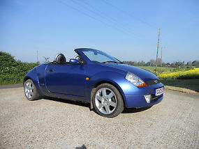 Ford Streetka 1.6 Convertible, 2005, 47,453 miles, 1 Years MOT,  image 1