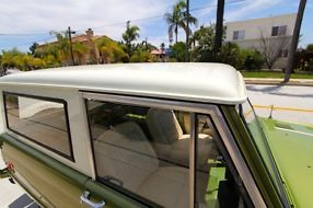 1975 Ford Bronco Ranger 4x4 V8 Uncut 100% Rust free California truck image 5