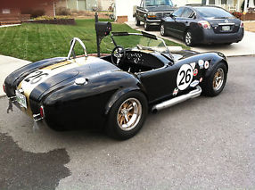 A/C Shelby Cobra 427FE Big Block Ford Race Exotic Superformance Pro Roadster image 7
