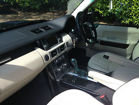2007 (07) RANGE ROVER SUPERCHARGED BLACK / IVORY / PIANO TRIM image 5