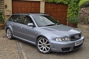 Original Audi RS4 very low mileage exceptional condition FASH tax mot classic