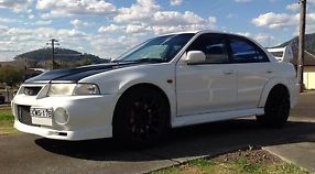 Mitsubishi Lancer Ralliart Evolution VI 1999 4D Sedan 5 SP Manual (2L -...