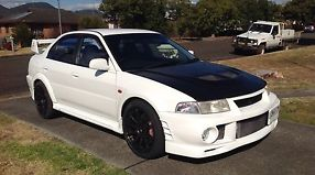 Mitsubishi Lancer Ralliart Evolution VI 1999 4D Sedan 5 SP Manual (2L -... image 2