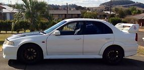 Mitsubishi Lancer Ralliart Evolution VI 1999 4D Sedan 5 SP Manual (2L -... image 7