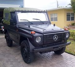 1988 mercedes benz military jeep 5000 origional miles for Mercedes benz that looks like a jeep