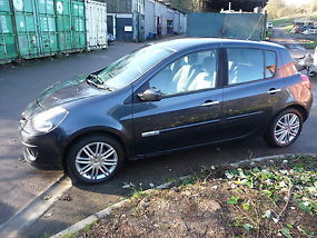 2006 renault clio initiale grey full leather immaculate. Black Bedroom Furniture Sets. Home Design Ideas