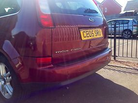 2005 Ford focus c-max 1.8 Zetec 11 month mot NEW CLUTCH great family car image 3