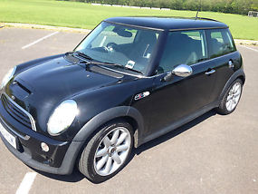 2003 MINI COOPER S BLACK image 3