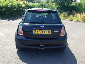 2003 MINI COOPER S BLACK image 5