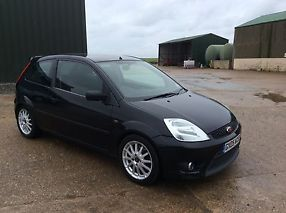 FORD FIESTAZETEC S 1.6 2005 BLACK 2 FORMER OWNERS SERVICE HISTORY MOT AND TAX