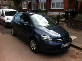 2005 VOLKSWAGEN GOLF PLUS SE BLUE