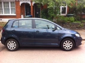 2005 VOLKSWAGEN GOLF PLUS SE BLUE image 3