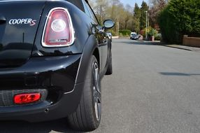 STUNNING ONE OWNER BLACK 2010 MINI COOPER S CONVERTIBLE image 1