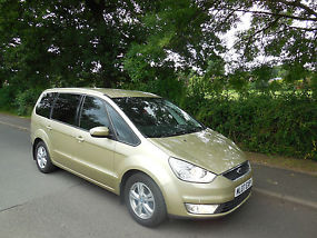 2007 FORD GALAXY ZETEC TDCI 6G,68 000 miles, FSH, FULL LEATHER, PARROT BLUETOOTH image 1